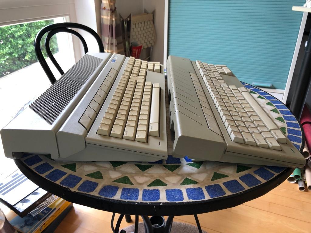 Computermuseum: Atari 260ST und Mega ST Tastatur