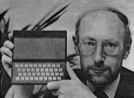 Clive Sinclair und sein ZX81