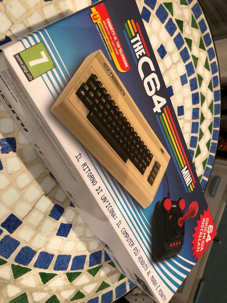 Computermuseum: C64 mini